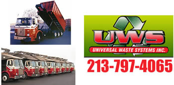 Dumpsters for rent in Whittier from UWS